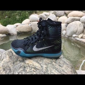 Kobe 10 High Elite Blue Lagoon